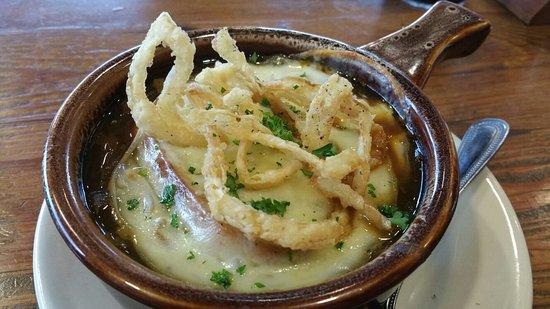 Bridgeport, Virgínia Ocidental: Triple Onion Soup