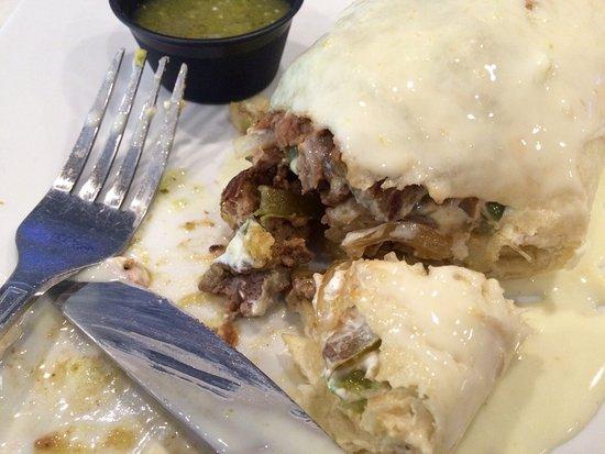 Cilantro's Grill and Cantina: The California Super Burrito is massive (hard to finish).