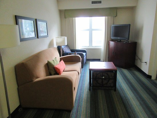The Inn at Mayo Clinic: Living room