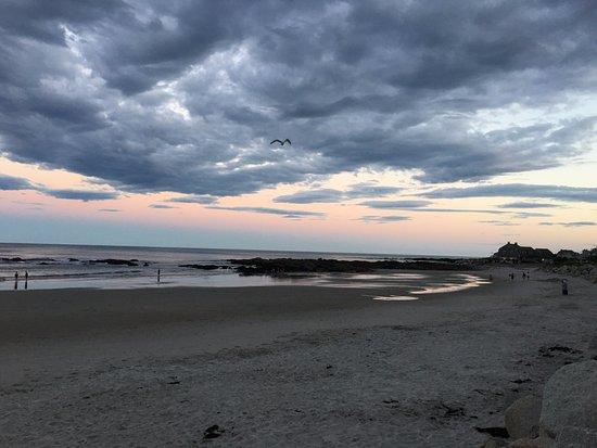 Fortunes Rocks Beach Sunset