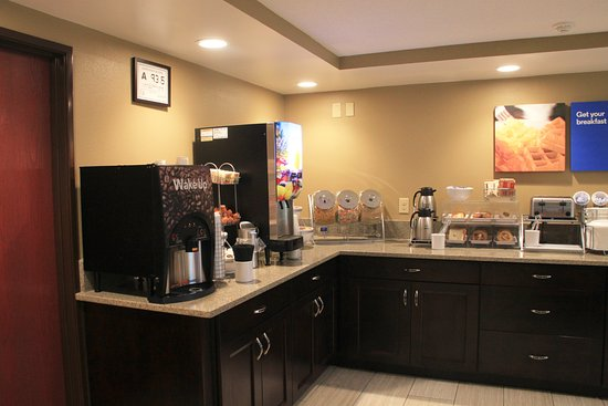 Comfort Inn Mount Airy: Beverage Bar