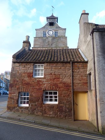 This tiny building houses the Crail Museum and Heritage Centre