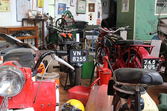 Llangollen Motor Museum: I said there was bikes!
