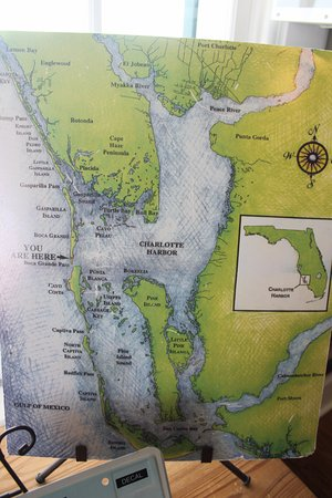 Boca Grande, Φλόριντα: Карта острова