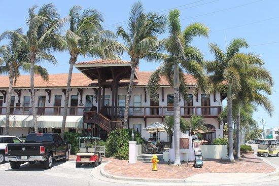 Boca Grande, Flórida: Один из ресторанов
