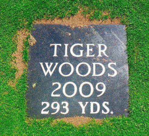 Wallace, Kanada: Tiger Woods Plaque