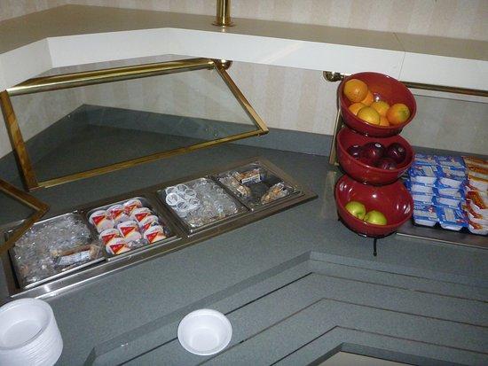 Vance, AL: prepackaged sausage & bisquits, yogurt, cereal
