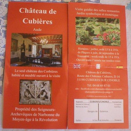 Chateau de Cubieres