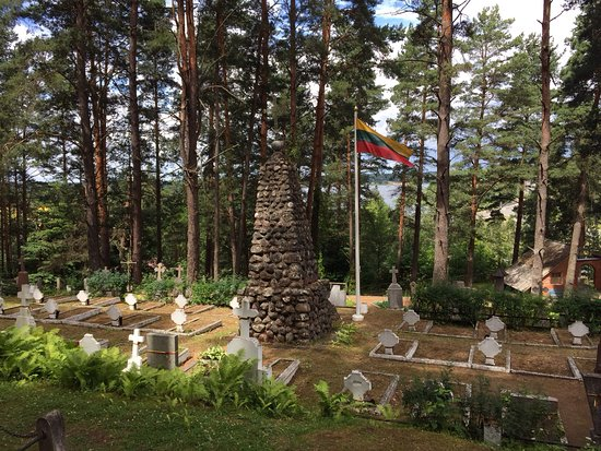 Zarasai, Lithuania: Beautiful setting for Memorial