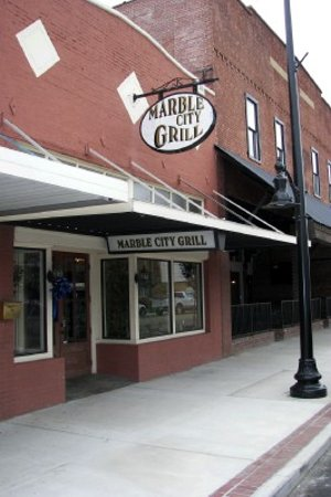 Sylacauga, AL: Front of Marble City Grill