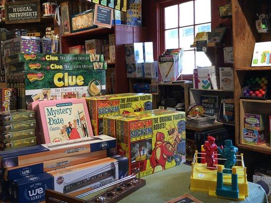 Weston, VT: Toys