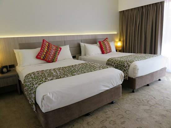 Desert Gardens Hotel, Ayers Rock Resort: very comfortable beds