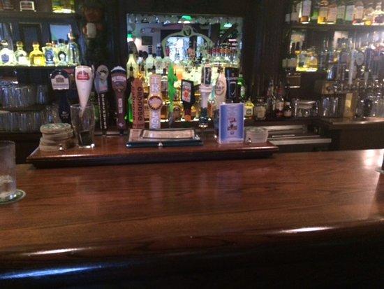 Great Falls, VA: A view of the bar