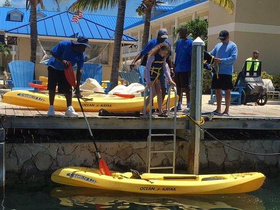 Blue Marlin Cove: Kayaks