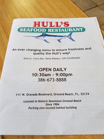 Hull's Seafood Market Restaurant : image-20160813_155343_large.jpg