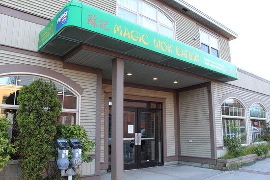 Magic Wok Limited : Magic Wok Eatery facade