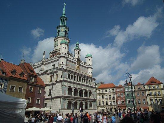 Koziolki Poznankie Ratusz: Stare miasto