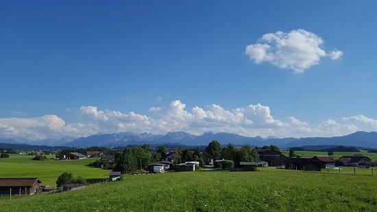 Lengenwang, Γερμανία: Kinderferienhof Bergblick