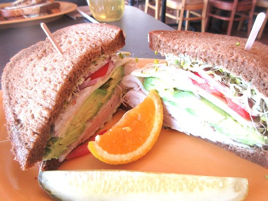 Turkey with Avocado Sandwich, Erik's Delicafe, Milpitas, cA