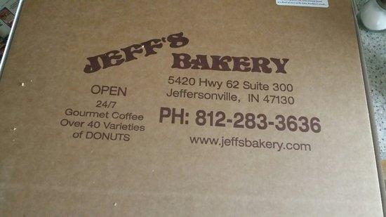 Jeffersonville, IN: Yummy doughnuts