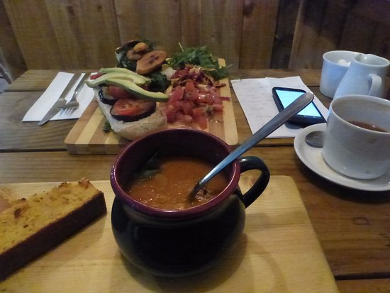 Soup And Cornbread Picture Of Knights Kitchen Edinburgh