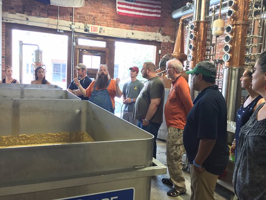 Greensboro, NC: Learning about distilling at Fainting Goat Spirits