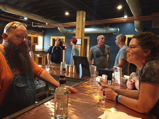 Greensboro, NC: More schooling at Fainting Goat Spirits