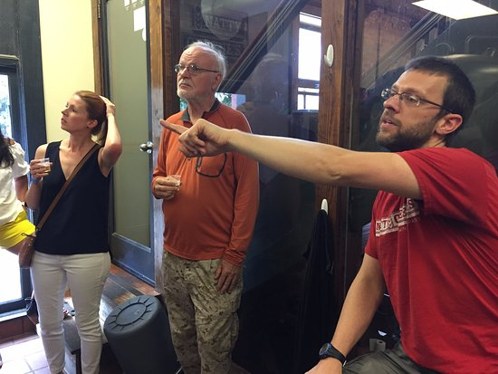 Greensboro, NC: Hearing about the pub brews at Natty Greene's
