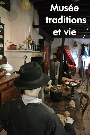 Musee traditions et vie : La salle à manger