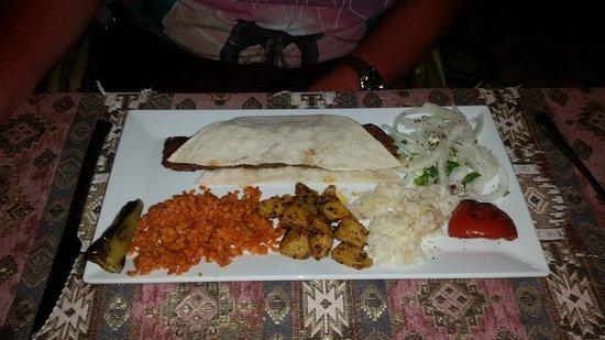 Hanedan Turkish Tapas & Grill: Adana kebab