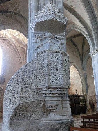 Santa Maria del Campo, Espagne : Púlpito