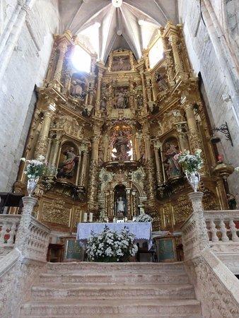 Santa Maria del Campo, Espagne : Retablo altar mayor