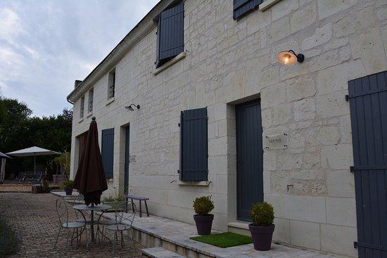 Candes-Saint-Martin, Francia: Les Suites du Chateau