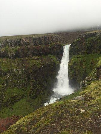 Gljúfursárfoss - Waterfall