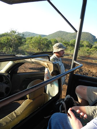 Zulu Nyala Game Lodge : Ronnie the great Safari Guide