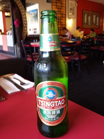 Beer at Cantonese restaurant
