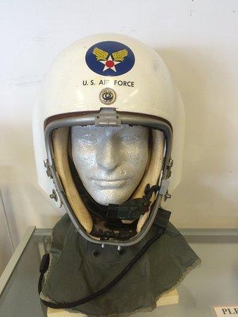 Cahokia, IL: USAF helmet