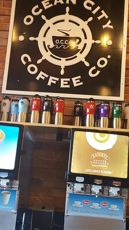 Ocean City Coffee Co: Delicious coffee with Baileys, but has a lot of options more...