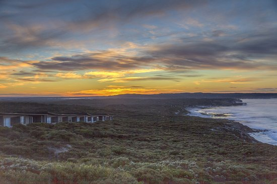 Sunrise over Southern Ocean Lodge
