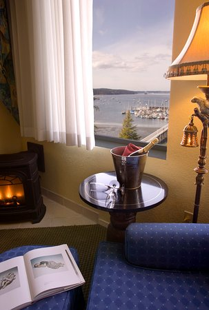 Port Hadlock, WA: Romantic View From Suite