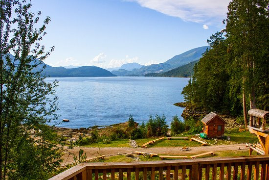 Sechelt, Canada: View from Room