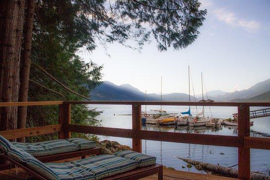 Sechelt, Kanada: View from Room