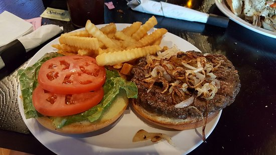 Wauconda, IL: 1/2 lb. Angus burger very good.