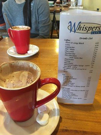 Levin, Nieuw-Zeeland: Whispers Cafe