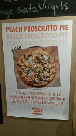 Good pizza. Needs sound dampening
