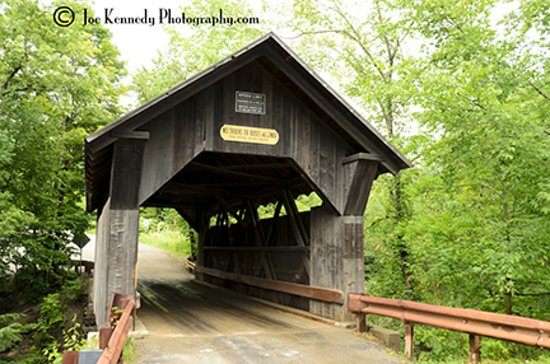 Gold Brook Covered Bridge (Emily's Covered Bridge): Gold Brook / Emily's Bridge