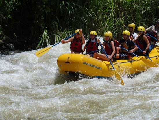Rafting the Savagre River with Dominical Surf Adventures