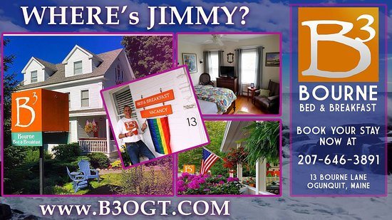 Bourne Bed & Breakfast: Where's Jimmy???