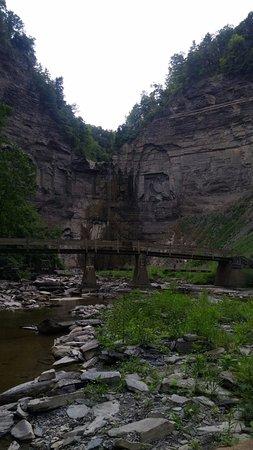 Trumansburg, Nova York: The Falls