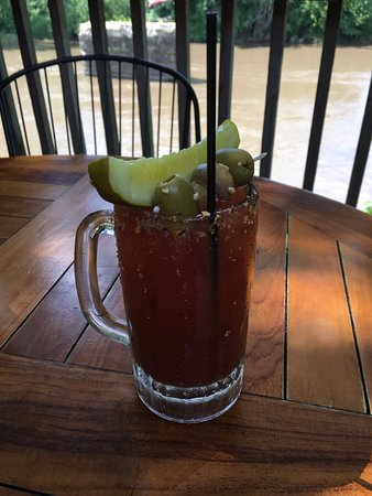 Anamosa, IA: One of their great Bloody Mary drinks